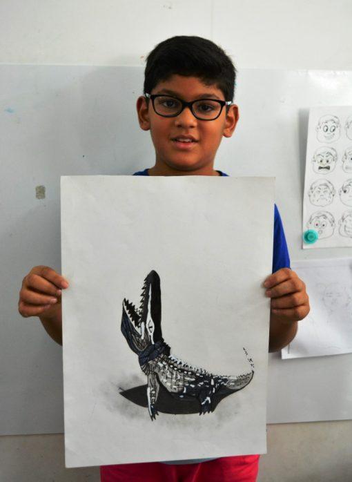 artist-rishit-crocodile