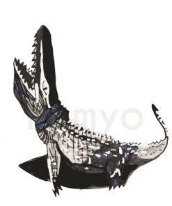artwork-crocodile-black-white-rishit