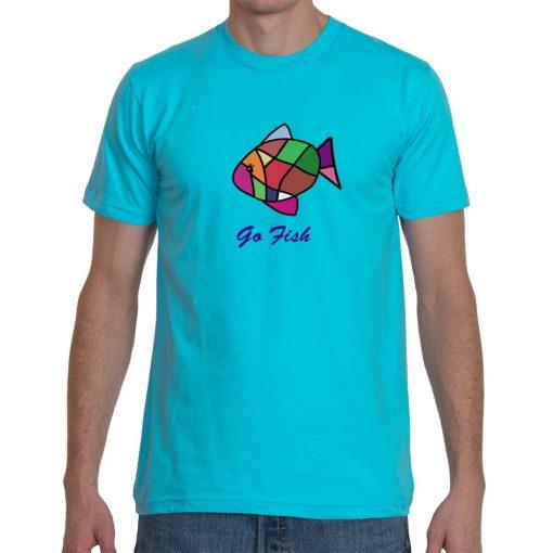 tshirt-men-turquoise-go-fish